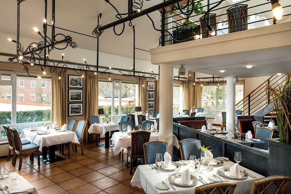 Das Restaurant im Hotel Godewind in Markgrafenheide