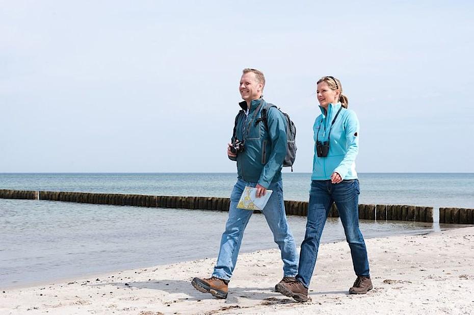 Fastenwandern an der Ostsee vom Hotel Godewind gestartet.