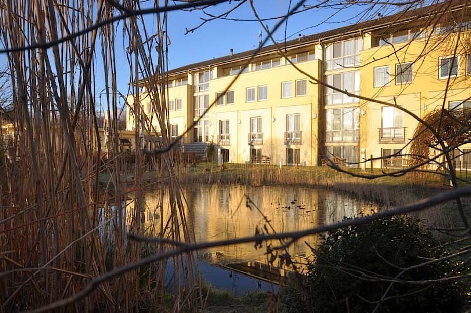 Blick auf unser Fastenhotel Godewind in Markgrafenheide - Warnemünde