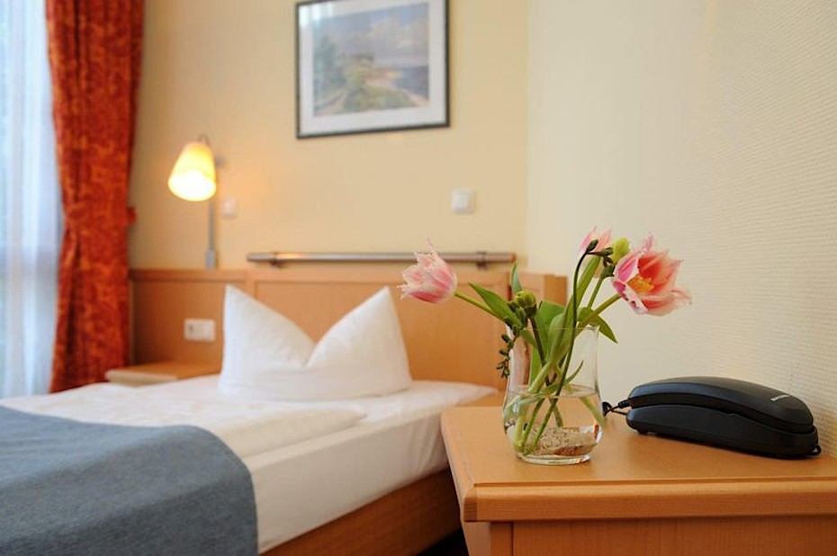 Einzelzimmer im Hotel Godewind