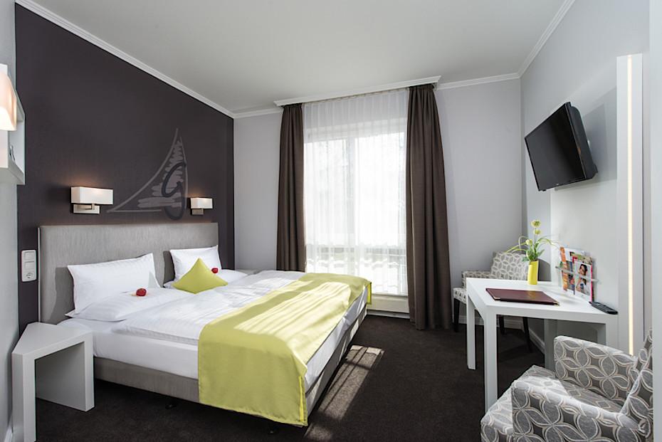 Standard-Zimmer im Hotel Godewind