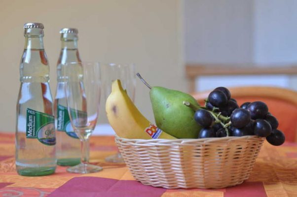 Obst und Gemüse beim Fasten im Hotel Godewind