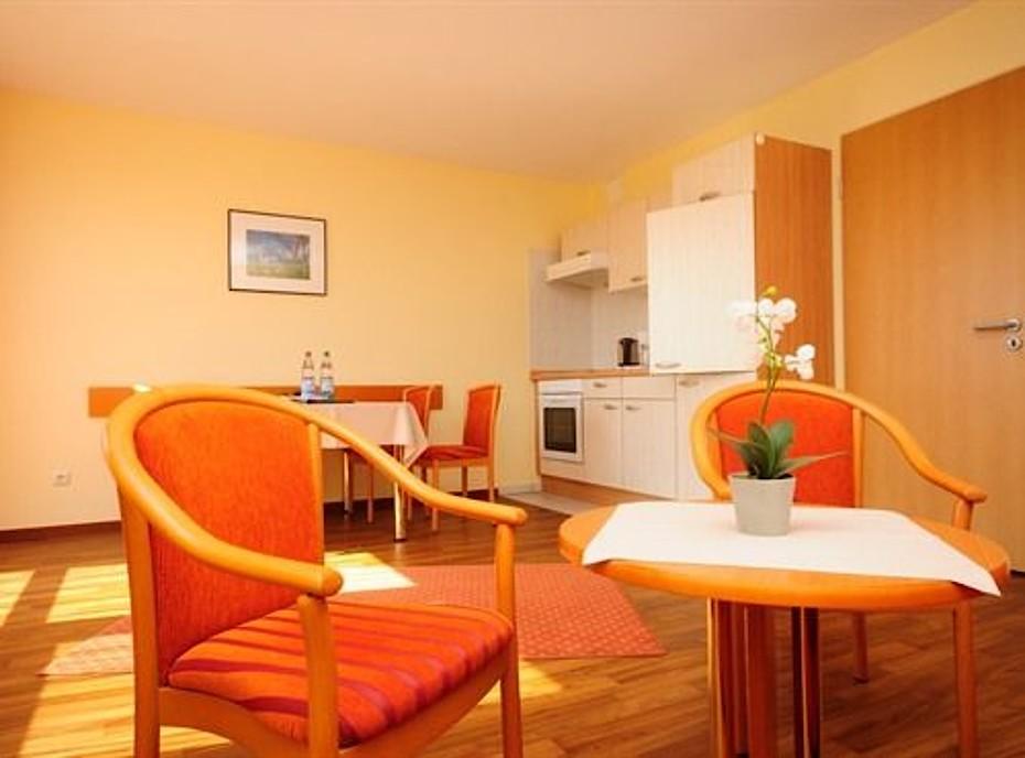 2-Zimmer Ferienwohnung im Hotel Godewind in Markgrafenheide