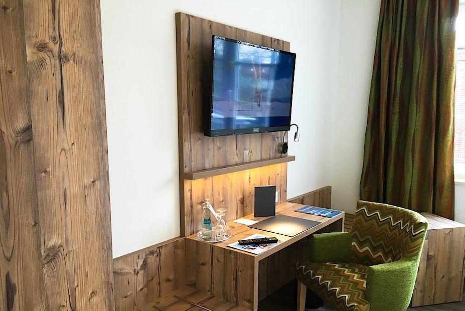 Hotel Susewind Zimmer Fernseher