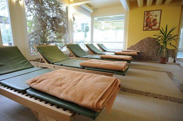 Der Wellnessbereich im Hotel Godewind