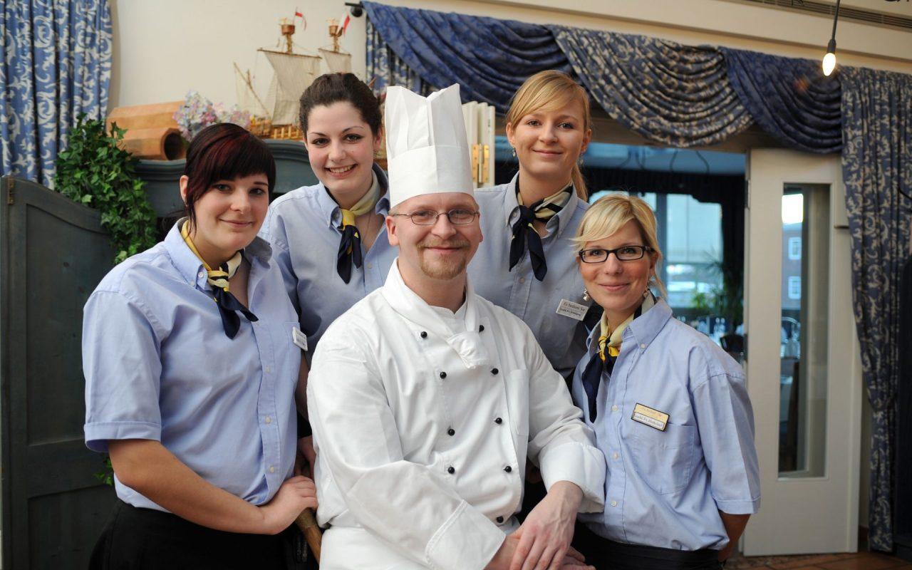 Stellenangebote im Hotel Godewind in Markgrafenheide / Ein Teil unseres Teams