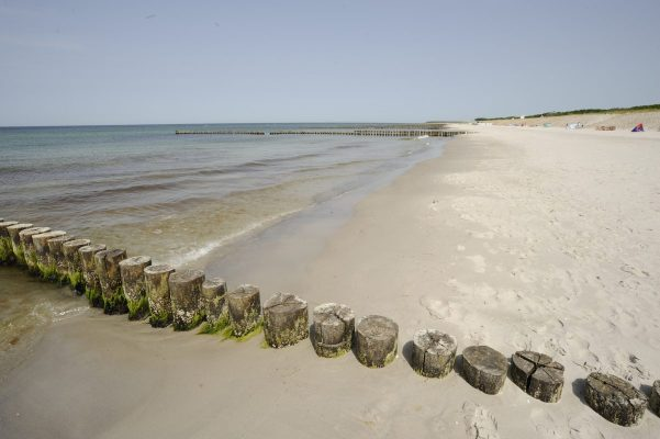 Die Godewind Hotels in Markgrafenheide / Blick auf den Strand