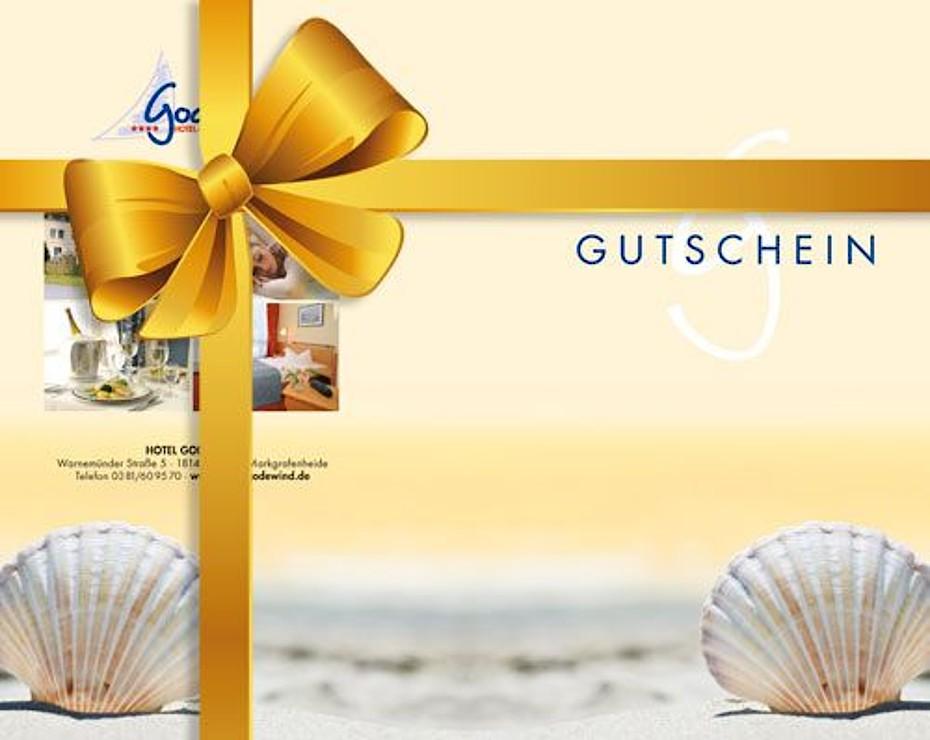 Ein Hotelgutschein vom Hotel Godewind an der Ostsee können Sie online kaufen und verschenken.